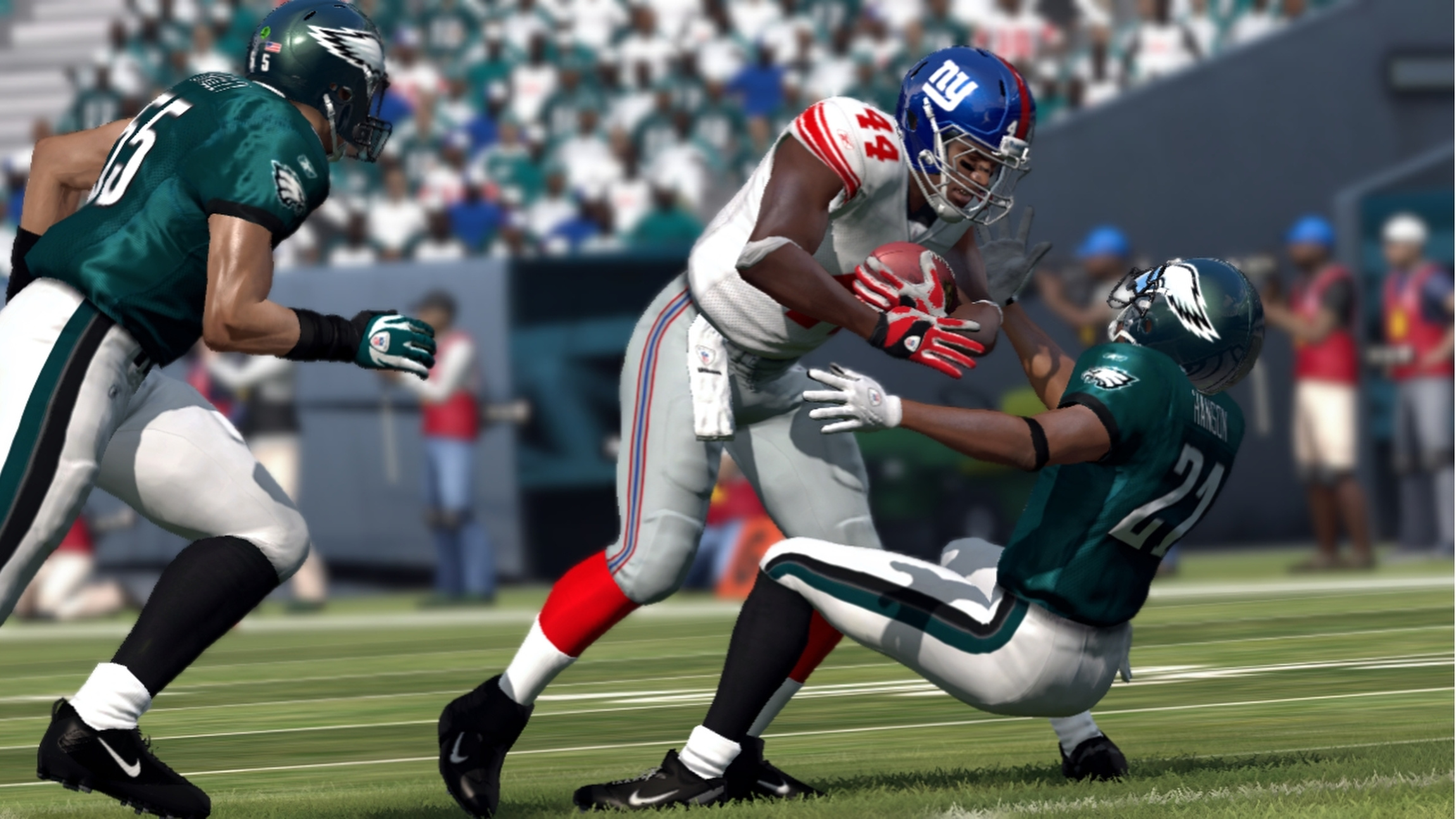 STILL FROM VIDEO GAME 'MADDEN NFL 12' – DioSCG