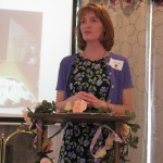 "MOTHER DAUGHTER TEA--Jill Sisney gave a talk on ""Being A Mother"" at a recent Mother Daughter Tea held at Trinity Hills. Younger participants learned about the beauty and wonder of God's plan for growing up and becoming a woman. Delicate topics were discussed in a sensitive manner putting all at ease. Two more Mother Daughter Teas are scheduled for July and September. (Submitted photo)"