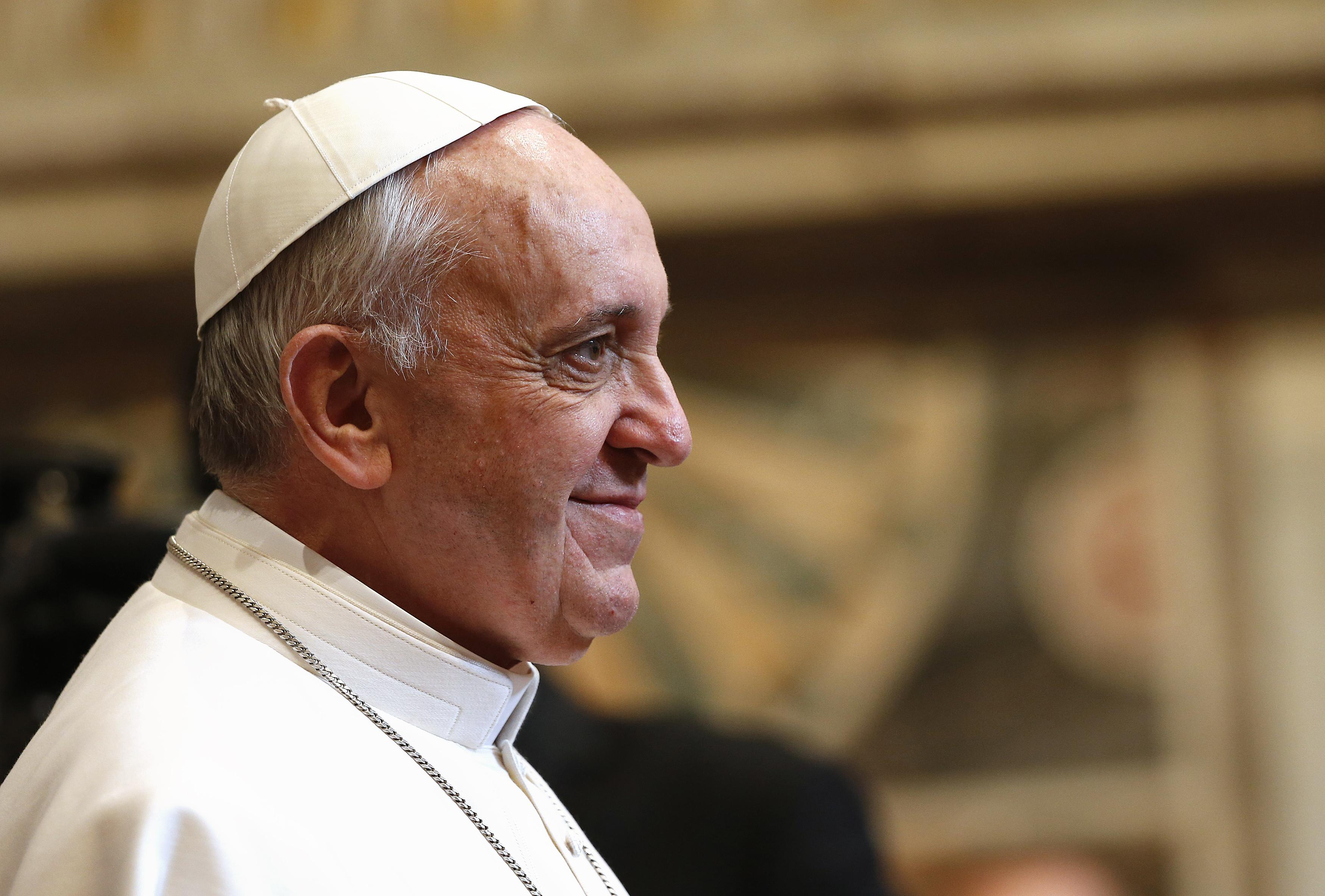 """a look at the papacy Question: what does the bible say about the pope / papacy answer: the roman catholic church's teaching about the pope (""""pope"""" means """"father"""") is built upon and involves the following roman catholic teachings: 1) christ made peter the leader of the apostles and of the church (matthew 16."""