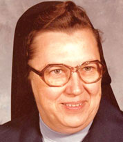 SR. BLOMER--Sr. Raynald Blomer is pictured in 1979 when she came to the Diocese of Springfield-Cape Girardeau to serve as principal of Springfield Catholic High School. (The Mirror)