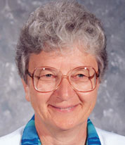 FIRST WOMAN PARISH LIFE COORDINATOR--Sr. Mary Ann Fischer served the Diocese of Springfield-Cape Girardeau as the principal of Notre Dame Regional High School in Cape Girardeau. In 2000, she was named the first woman Parish Life Coordinator of Holy Trinity Parish in Aurora and Sacred Heart Parish in Verona. (The Mirror)