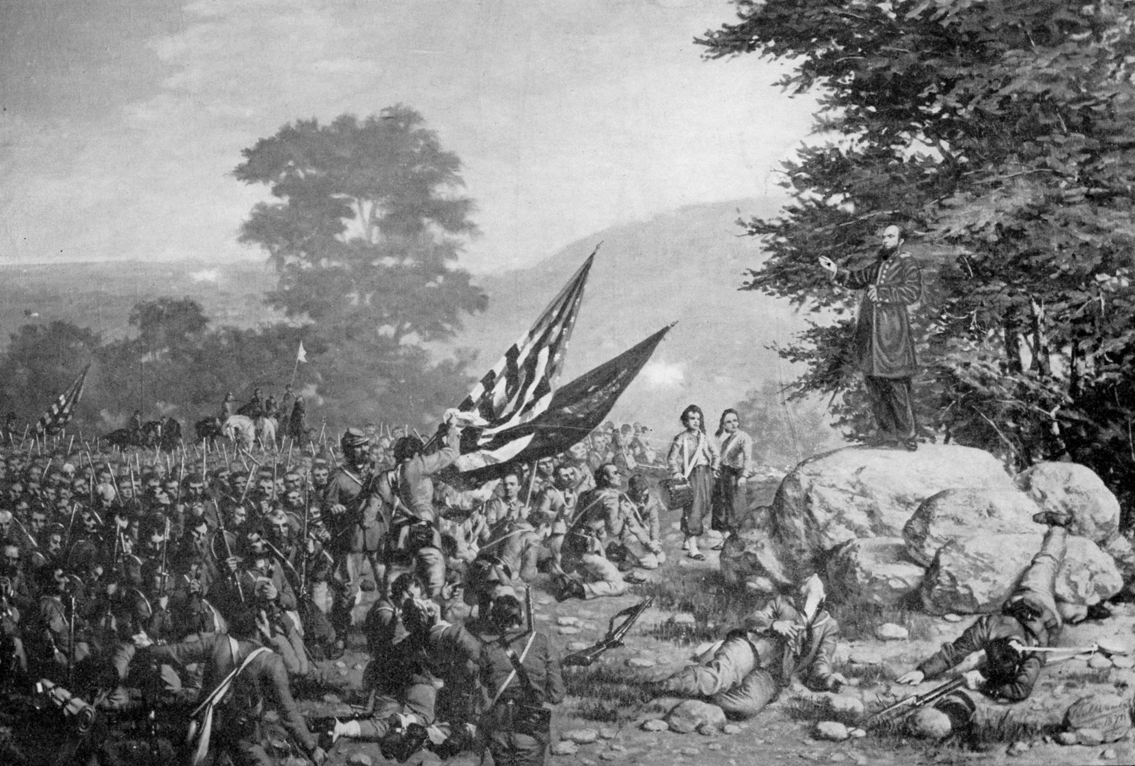 the irish brigade during the civil war The irish in the american civil war , 150,000 in union army, 25,000 in confederate  total (during the war) 961 the irish brigade lost over 4,000 men in killed and wounded it being more men .