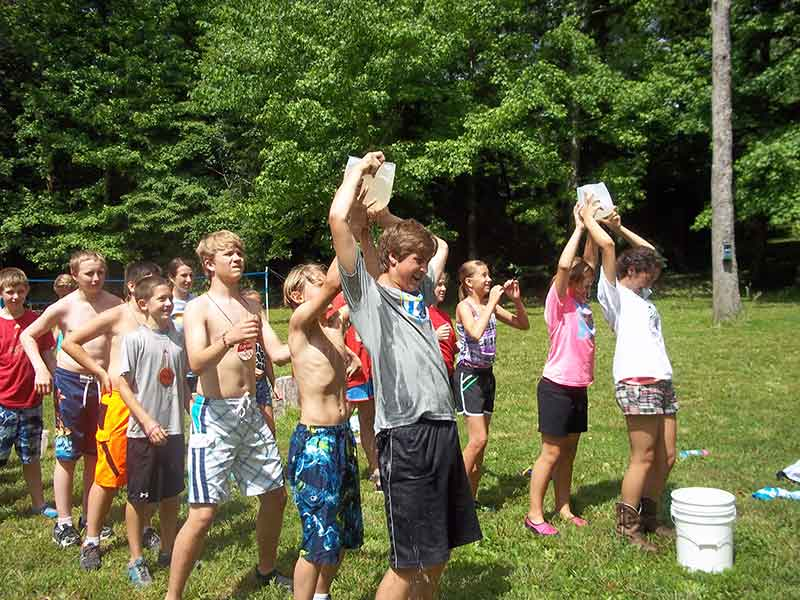 CAMP ACTIVITIES Campers At Camp St Vincent Fredericktown Engaged In A