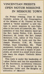 Motor Missions, 1935.