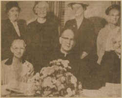 Diocesan Council of Catholic Women Officers 1957