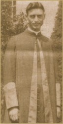 Strecker in Papal Chamberlain robes