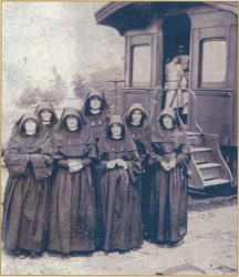 Sisters of Loretto at the Foot of the Cross circa 1850.