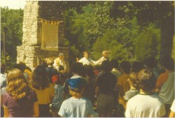 Mass at Camp Re-NEW-All, Roaring River State Park