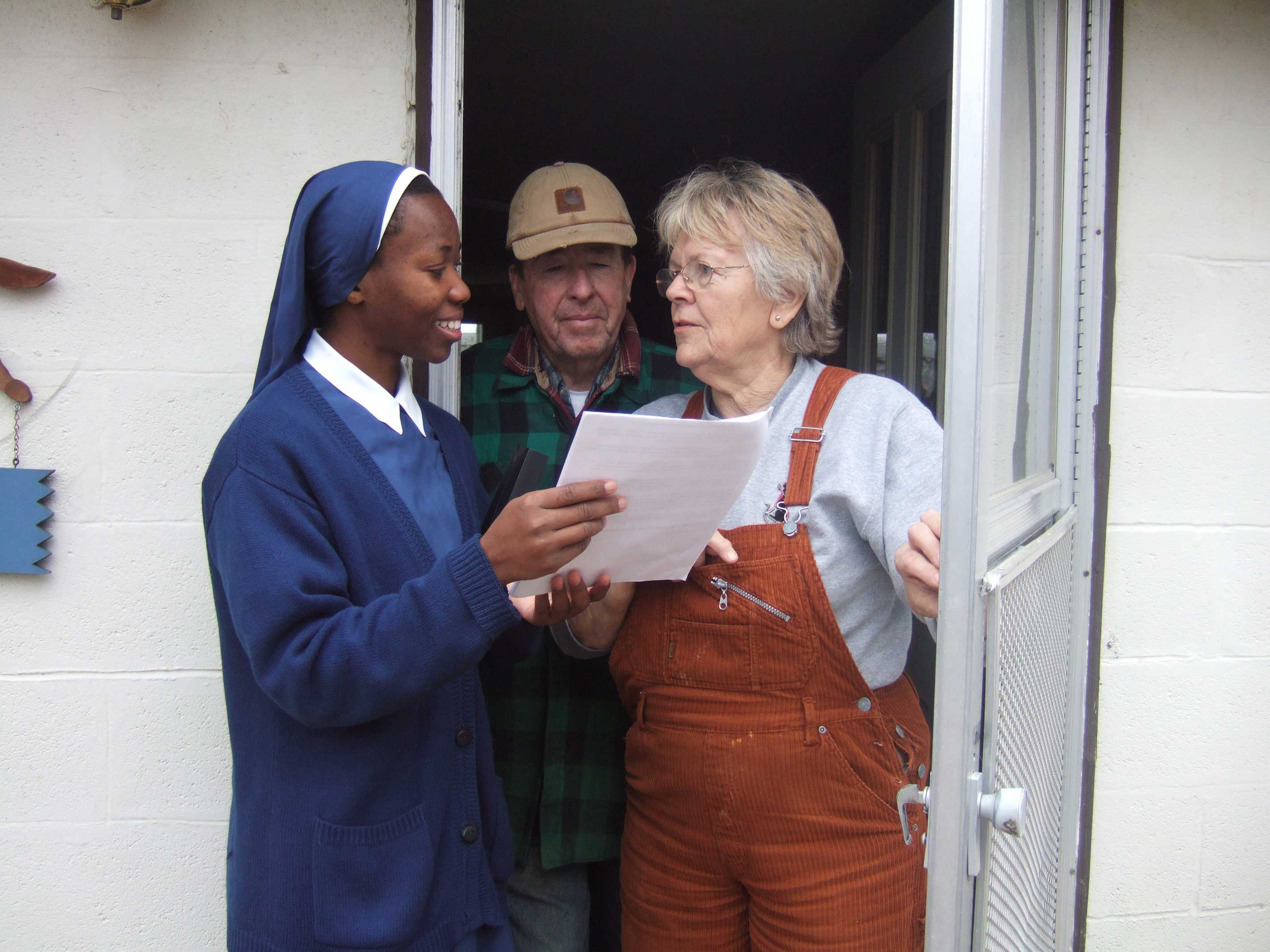 DOOR-TO-DOOR EVANGELIZATIONu2014Sr. Dina Marie Egong SMP spoke with Mr. and Mrs. Carpenter farmers in Billings MO on the Catholic Faith during her ministry ...  sc 1 st  Diocese of Springfield-Cape Girardeau & The Society of Our Mother of Peace u2013 DioSCG