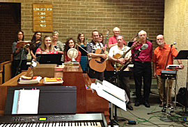Contemporary Choir at Immaculate Conception Parish, Springfield. (Submitted photo)