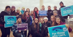 YOUTH MARCH FOR LIFE—Students from Notre Dame Regional High School, Cape Girardeau, participated in the 2017 March for Life in Washington, DC. This year will be no different. (The Mirror)