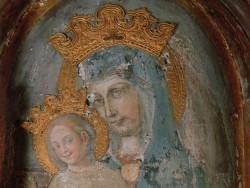MEMORIAL OF MARY—Our Lady of the Column in St. Peter's Basilica. (CNA)