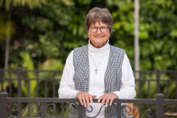 ACTIVIST—Sr. Helen Prejean, CSJ, had two speaking engagements in Springfield on Oct. 29 on her vocation and activism to end the death penalty. (Photo by Scott Langley)